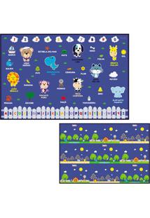 Tapete Interativo Para Crianã§As 1,20 X 1,80 Para Brincar Tipo Tatame Dobrã¡Vel Impermeã¡Vel - Multicolorido - Dafiti