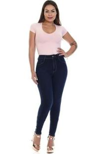 Calça Jeans Sawary Super Lipo Feminina - Feminino