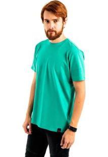 Camiseta Aes 1975 Básica Masculina - Masculino-Verde