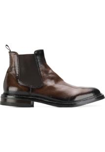 Officine Creative Ankle Boot Clássica - Marrom