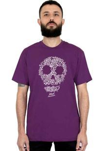 Camiseta Bleed American Flaw Roxo