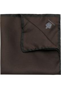 Dolce & Gabbana Lenço Com Logo - Marrom