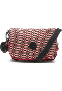 Bolsa Kipling Crossbody Earthbeat S Vermelha