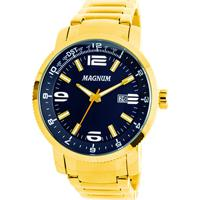 Relógio Magnum Analógico Ma33095A Masculino - Masculino-Dourado cbdc40548b