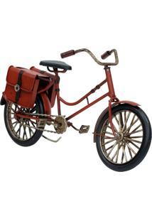 Enfeite Retrô Minas De Presentes Bicicleta Vermelho - Kanui
