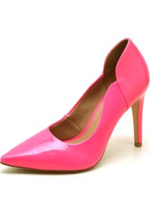 Scarpin Hendy Bag Neon Rosa
