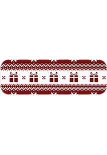 Passadeira Love Decor Presentes De Natal Vermelho