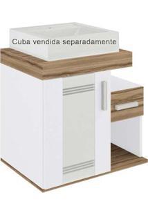 Gabinete Brenda Ii 60X40X55Cm Sem Cuba Terracota Darabas