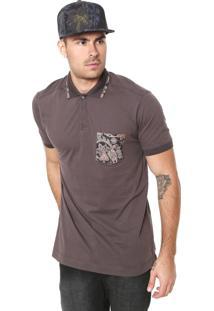 Camisa Polo Mcd Reta Pasley Grafite