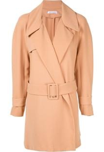 Bianca Spender Oversized Belted Jacket - Neutro