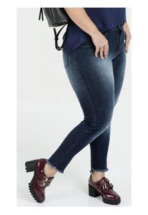 ... Calça Feminina Jeans Cigarrete Plus Size Biotipo d489411cf1e