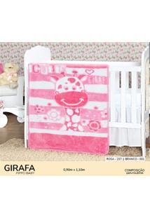 Cobertor Infantil Pippo Girafa