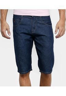 Bermuda Jeans Biotipo Lisa Masculina - Masculino-Jeans