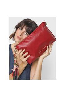 Clutch Jorge Bischoff Tassel Vermelha