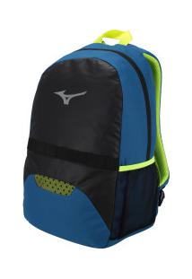 Mochila Mizuno Player Fit - Preto/Azul