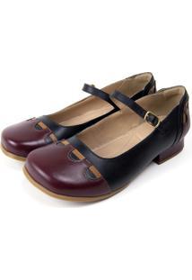 Sapato Miuzzi Vinho - Kanui