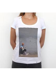 Sanfona - Camiseta Clássica Feminina