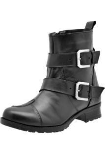Bota Atron Shoes Feminina - Feminino-Preto