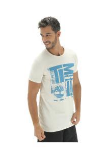 Camiseta Timberland Tbl City Logo - Masculina - Bege