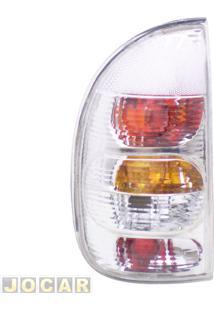 Lanterna Traseira Tuning - Alternativo - Inovox (Rcd) - Corsa 2000 Até 2002 - 4 Portas (Exceto Sedan) - Linha Evolution - Cristal (Branca) - Lado Do Motorista - Cada (Unidade) - I2345