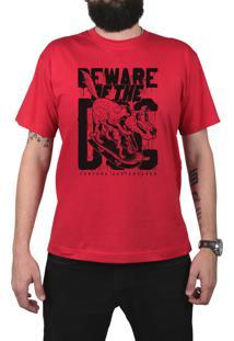 Camiseta Ventura Beware Of The Vermelho