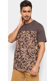 Camiseta Mcd Especial Core Pasley Masculina - Masculino-Marrom Claro