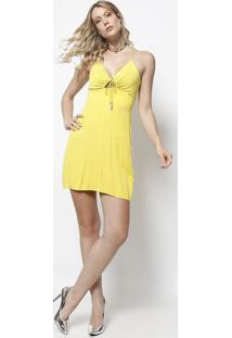 20e42530e R$ 106,99. Privalia Vestido Amarelo Publish Colcci ...