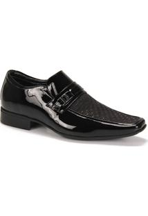 Sapato Social Masculino Jota Pe Air Zeus - Preto