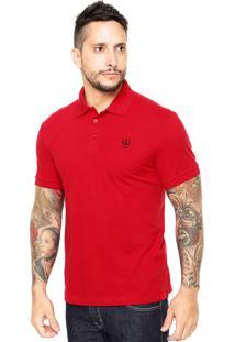 Camisa Polo Coca-Cola Jeans Coke Vermelho
