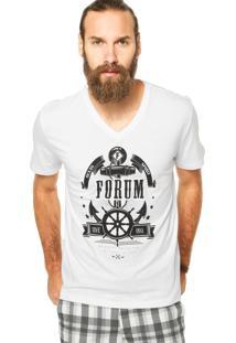 Camiseta Forum Reta Branca