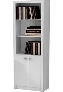 Armário Para Escritório Me4110 2 Portas Branco- Tecno Mobili