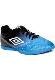 Tênis Futsal Masculino Umbro Fifty Indoor Azul/Preto