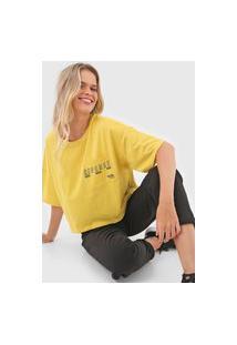 Camiseta Colcci Repense Amarela