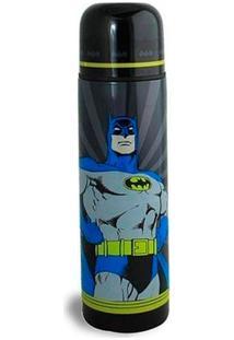 Garrafa Térmica - 500 Ml - Dc Comics - Batman - Metrópole - Unissex-Preto