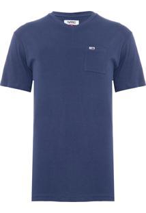 Camiseta Masculina Classics - Azul