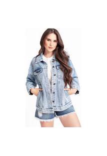 Jaqueta Oversized Jeans Hana Deluxe