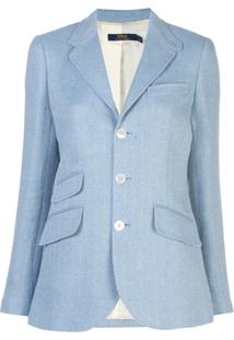 Polo Ralph Lauren Blazer De Alfaiataria - Azul