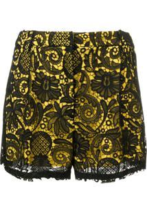 Nº21 Lace Shorts - Preto