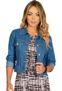 Jaqueta Jeans Quintess Azul Claro - Kanui