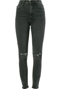 Nobody Denim Calça Jeans 'Siren Skinny Ankle' - Preto