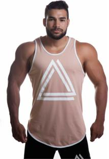 Camiseta Advance Triangle Caqui