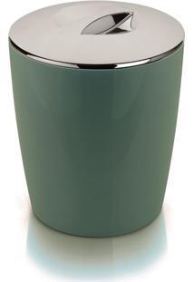 Lixeira Vitra 5 Litros Cromo Verde Ou