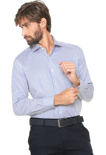 Camisa Aramis Reta Listras Branca