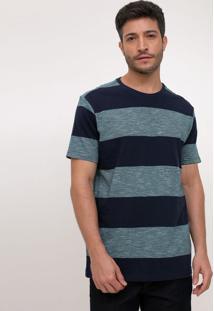 Camiseta Comfort Listrada