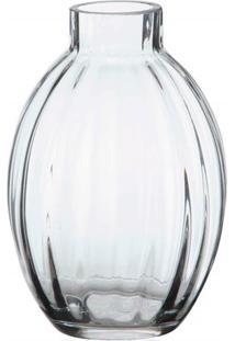 Vaso Em Vidro Abode Transparente 15Cm