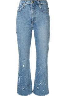 Nobody Denim Calça Jeans Flare 'Belle' - Azul