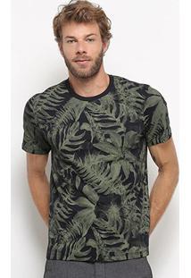 Camiseta All Free Folhagem Masculina - Masculino