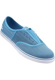 Tênis Lacoste Rene Sleek Slip Hpc - Feminino-Azul Piscina+Branco