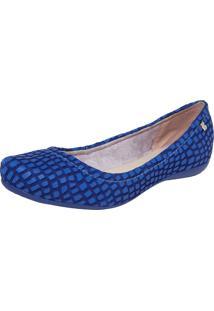 Sapatilha Couro Bottero Fashion Azul