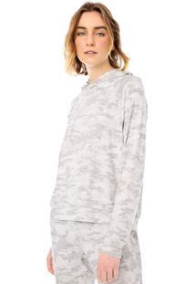 Blusa Gap Camuflada Cinza
